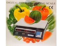 Digital Electronic Price Computer Weight Scale 30kg Retail Commercial Dual Display