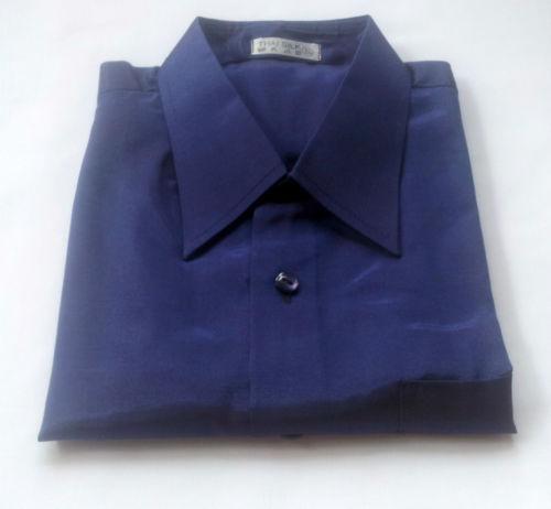 Mens dark purple dress shirt ebay for Royal purple mens dress shirts