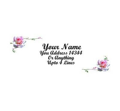 Beautiful Roses Design-personalized Address Labels 50pcs Design1