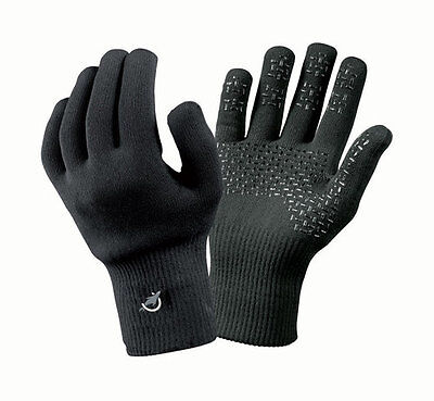 Sealskinz Ultra Grip Waterproof Outdoor Cycle Hike Gloves - Black - Clearance