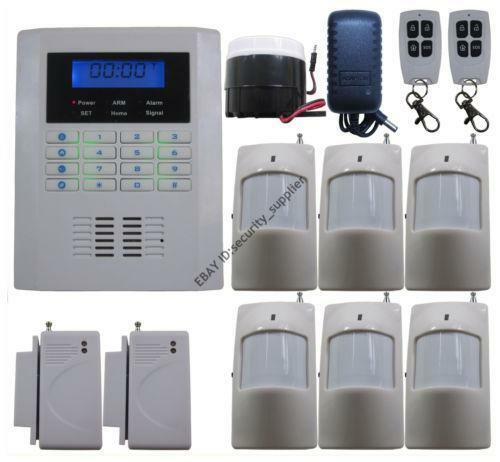 Gsm Burglar Alarm Security Systems Ebay