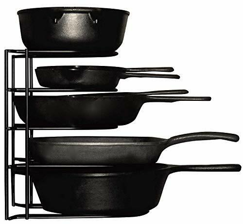 Kitchen Storage Pan Organizer Pan Pot Cabinet Counter Top St