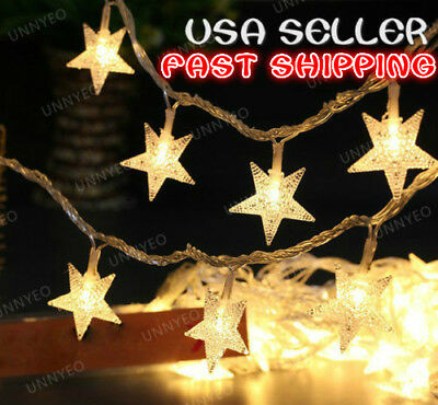 SALE! 100/200/300 LED Fairy String Lights For Christmas Wedding Party Decoration