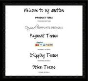 Black Auction Template