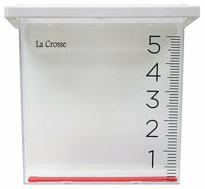 NEW La Crosse Technology 705 109 Waterfall Rain Gauge FREE SHIPPING