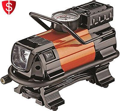 Air Compressor Pump LED Portable Auto Tire Heavy Duty Inflator Car Light Truck