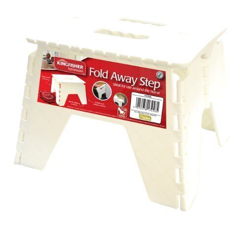 Kingfisher Fold Away Step Stool Ideal For Stepping or Seating Holds upto 100 kg
