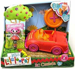 Rare Cool Lalaloopsy Mini Remote Control Car MINT Condition