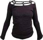 Ladies Long Sleeve Cotton Tops