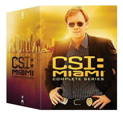 CSI MIAMI THE COMPLETE TV SERIES New 65 DVD Set Seasons 1 2 3 4 5 6 7 8 9 10
