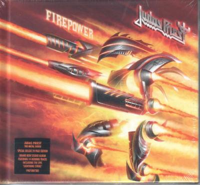 Judas Priest - FIREPOWER [Deluxe CD] Digibook Brand New & Sealed
