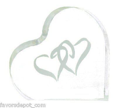 wedding cake top linked double heart design cake topper heart theme Double Heart Wedding Cake Top