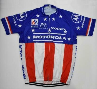 Brand New Retro Team Motorola USA Cycling Jersey Eddy Merckx