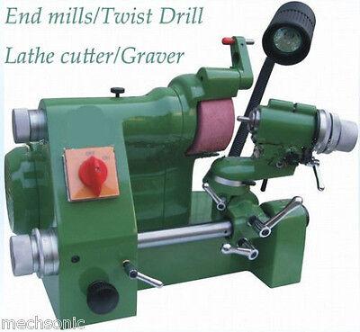 Universal Cutter Grinder Sharpener For End Milltwist Drilllathe Cutter Us1