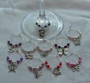 Wedding Wine Glass Charms