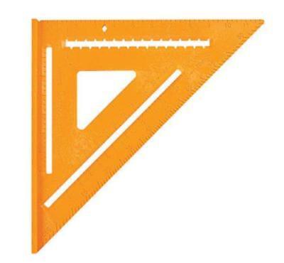 Swanson TO701 Speedlite Speed Square, Plastic, Orange, 12