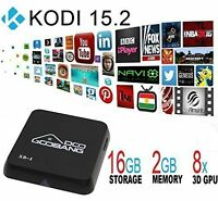 2016 First Generation XB-I Quad Core Android TV Box