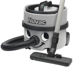 HENRY HOOVER INDUSTRIAL NUVAC Commercial Domestic Vacuum Cleaner GREY VNP180 NA1