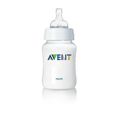 Philips AVENT Classic Clear (1) 9 oz Baby Bottle. Unique Anti-colic System. 1M+  ()