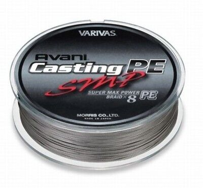 VARIVAS AVANI Casting PE line SMP Super Max Power #8 Max 120lb 400m 8 BRAIDED