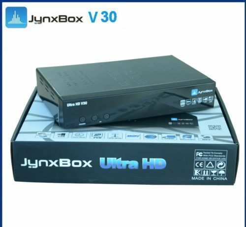 Jynxbox Ultra HD V30+ Satellite Receiver with JB200 & WiFi *Latest Version*