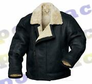 Black Sheepskin Flying Jacket