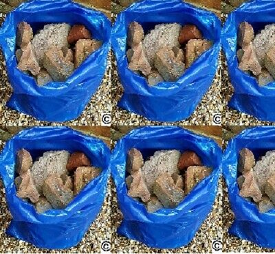 50 HEAVY DUTY BLUE RUBBLE SACKS BUILDERS BAGS
