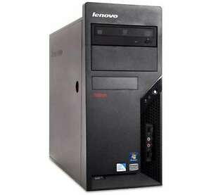 Wireless Lenovo Business Class Midtower PC,C2D 3GHz/2G/160G/HDMI
