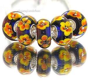 lampwork glass european beads