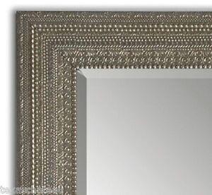 Silver floor mirror ebay for Silver floor length mirror