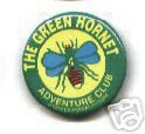 GREEN-HORNET-adventure-club-1941-rare-PINBACK-button