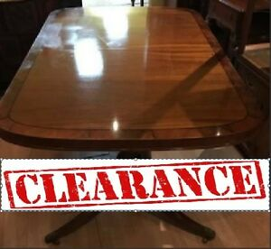 CLEARANCE SALE!!!! 50% OFF!! ASSORTMENT OF DINING ROOM TABLES