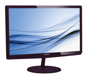 "Philips 24"" FHD 60Hz 5ms GTG IPS LED Monitor (Black) - For Sale"