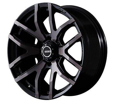RAYS DAYTONA FDXF6 8.5J-20 +22 Clear Black wheels LANDCRUISER PRAD made in Japan