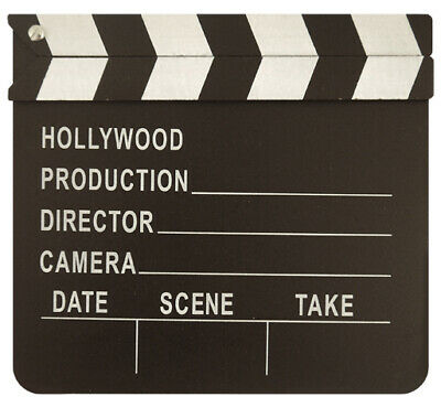 Hollywood Clapper Board Movie Style Action Themed Party Accessory Decoration