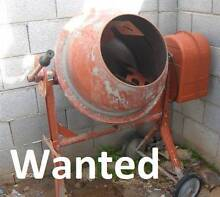 Cement Mixer WANTED, electric or petrol Ramsgate Rockdale Area Preview