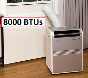 COMMERCIAL      COOL 8000BTU PORTABLE AIR CONDITIONER