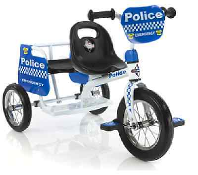 Kids Trike Police bike (POLICE EMERGENCY BIKE DUO)