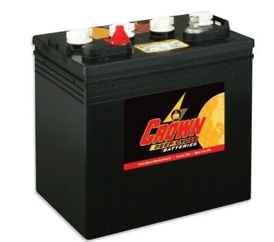 FREE SHIPPING!! 6 OF 8V 190AH CROWN CR-190 golf cart battery deep cycle (Crown Deep Cycle Battery)