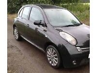 2008 Nissan micra teckna 1.2 not damaged cat d bargain cheap first car cheapest in country