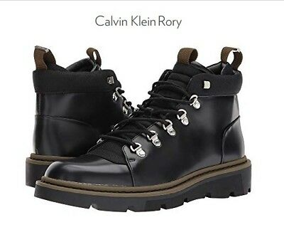 43aad3c6d79 Calvin Klein Men s Rory Box Leather Balstc Work Boot Size 9 M BRAND NEW IN