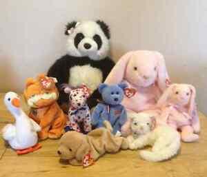 NEW: Build-A-Bear($15)  Beanie Babies($7 each) OBO