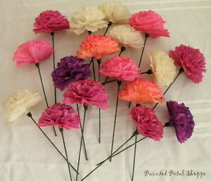 Custom Dyed Coffee Filter Flowers/ party decor/ wedding decor Belleville Belleville Area image 2
