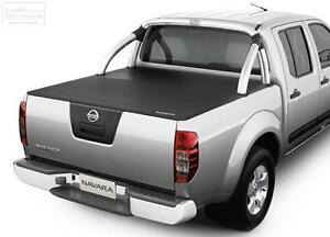 Nissan Navara D40 ST (Spanish) & ST-X GENUINE Soft Tonneau Cover
