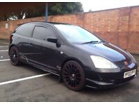 Honda civic type r ,Ep3 , Night Hawk Black, 2002**