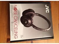 JVC Noise cancelling headphone (new)