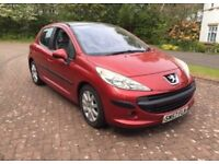 Peugeot 207 1.6hdi se 110bhp 57reg 60mpg 10 months mot