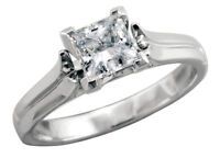 .71ct princess cut canadian diamond solitaire (brand new)
