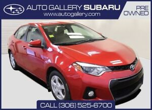 2014 Toyota Corolla S | FULLY EQUIPPED | ALLOY WHEELS | LOCAL TR
