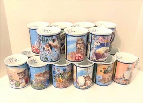 Gary Patterson Collectible Comical Cats Porcelain Mug Danbury Mint - YOU CHOOSE